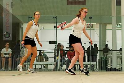 2010-11-20 Sarah Loucks (Dartmouth) and Christiana Whitcomb (Bowdoin)
