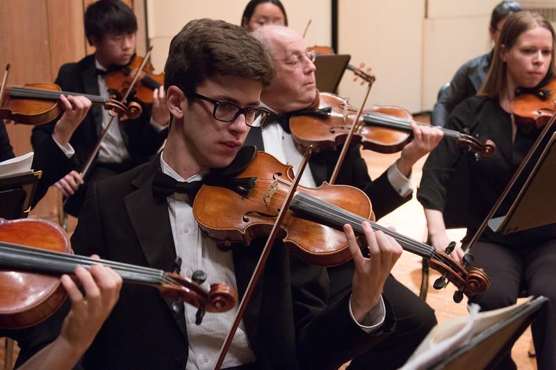 Forrest Hammel -- Hopkins Symphony Orchestra, April 2017