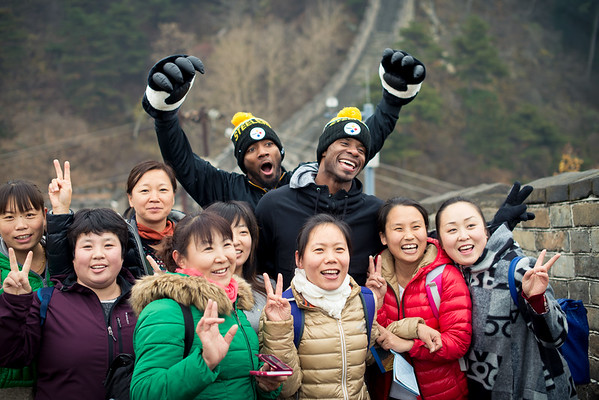 2015 Steelers Legends China Tour