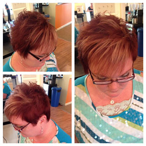Color and Highlights by Christina!