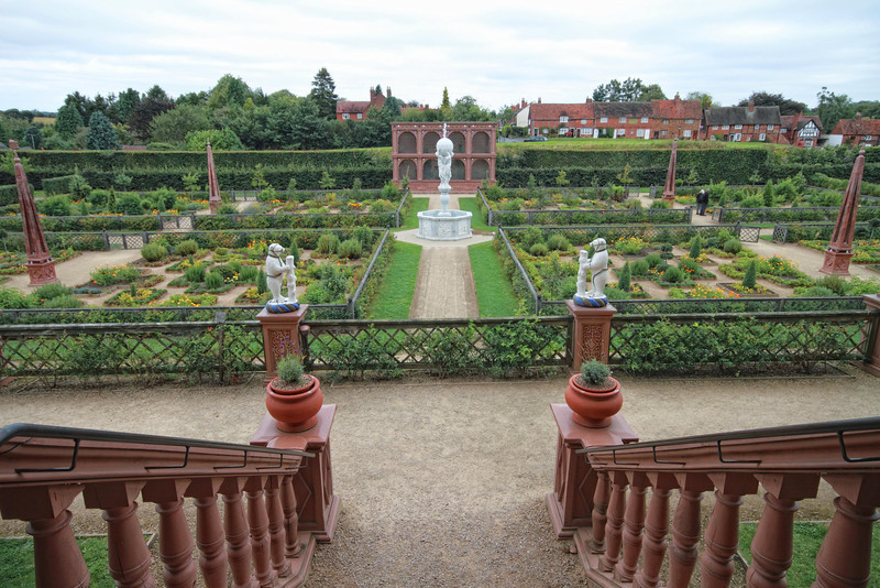 The English Garden at Kenilworth Castle