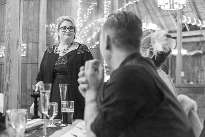 Speeches Reception- Lindsey & Dan O'Brien- St.- The Inn At The Round Barn Farm, Waitsfield VT Wedding Photographer