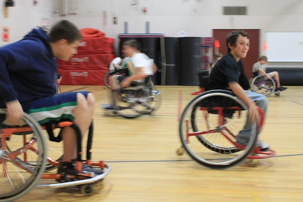TRMS Wheelchair Sports Demonstration