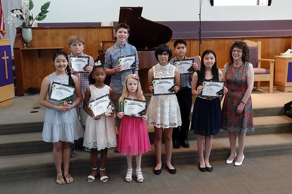 Piano Recital 2018