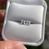 1.47ctw Carre Cut Diamond Pair GIA F VS2 2