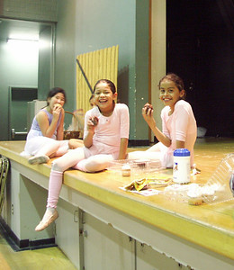 """Rehearsals for """"Madeline"""" Winter Show 2005"""