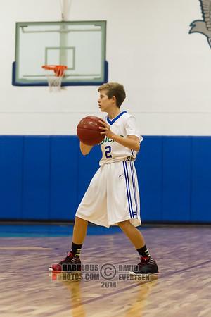 OrangeWood Christian Warriors @ Cornerstone Charter Academy Ducks Boys JV Basketball - 2013