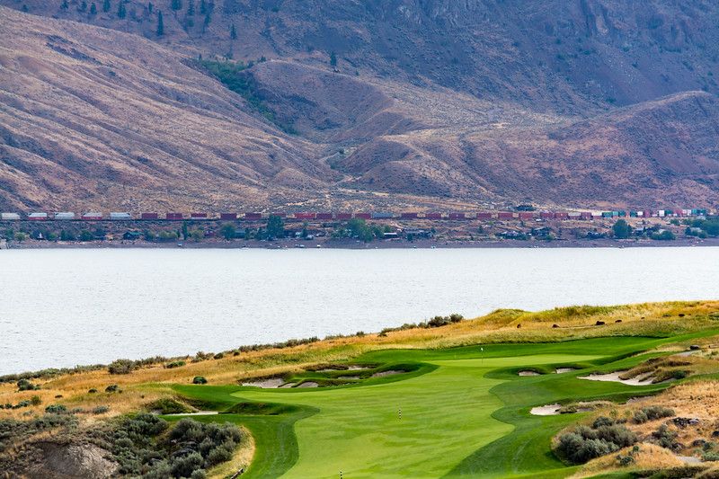 First Hole at Tobiano Golf Course