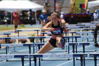 Girls 100m Hurdles Champs Prelims