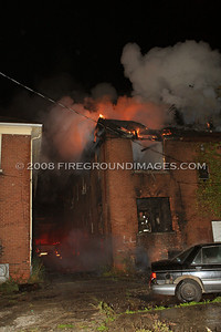 Broad St. Fire (Detroit, MI) 10/13/07