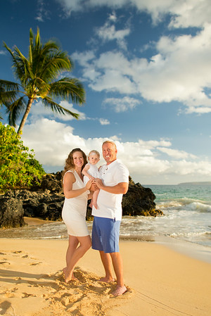 Lynna & Rob, Makena Cove, 062014