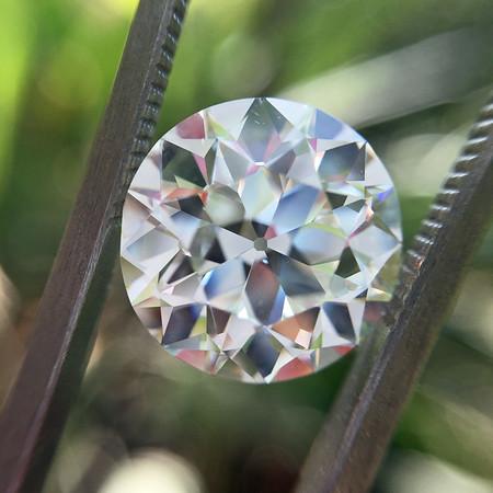 4.39ct Old European Cut Diamond, GIA J VS2