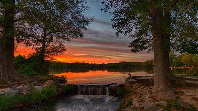 Sunsets and Praying Mantis Sep 2016