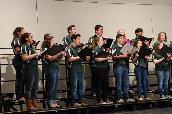 Texas A&M Chorale with HHS and HHSS Choirs