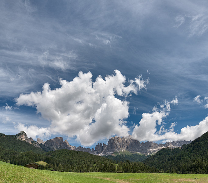 Rosengarten - Tiers, Bozen, Italy - July 4, 2020