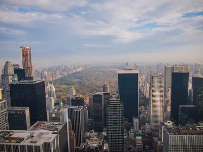 New York City up high