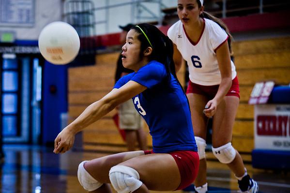 Cherry Creek Girls High School Volleyball