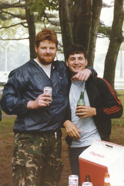 Memorial Day @ Eisenhower Park May 83 Gerry Graham and Mike Davie