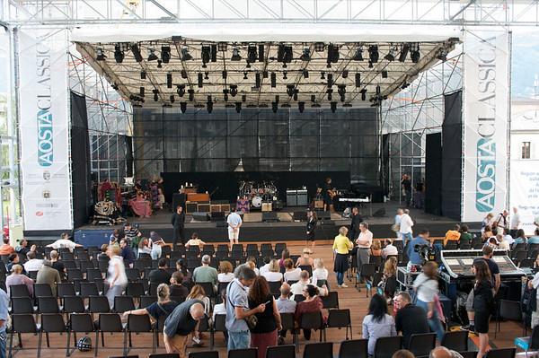 Concerto Crosby, Stills & Nash - Aosta, 21 luglio 2010
