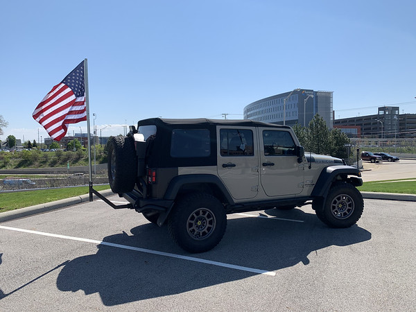 Jeep Flags