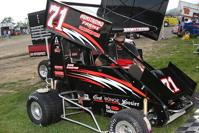 Jack Hewitt Midget Classic, Kokomo Speedway, Kokomo, IN, August 17, 2006