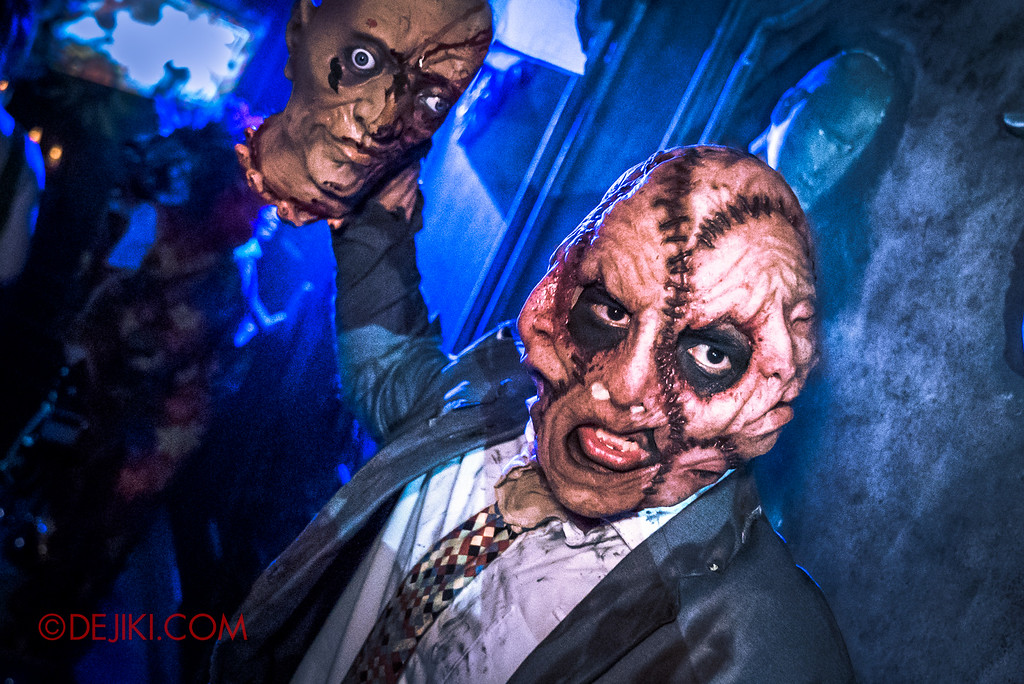 Halloween Horror Nights 6 - Bodies of Work / Hallway of Heads