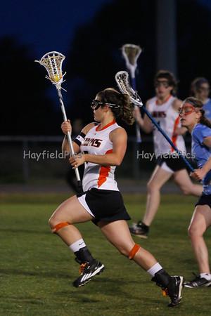 Lacrosse Girls Yorktown 4/13/12
