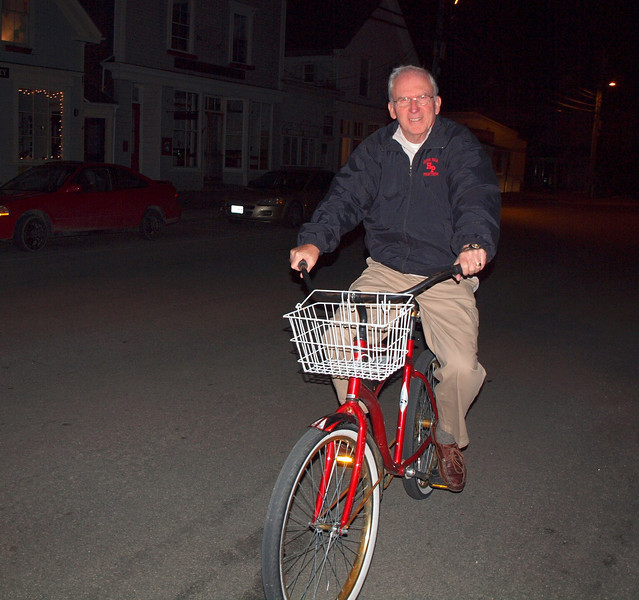Free use of the bicycles at the Tidewater Inn
