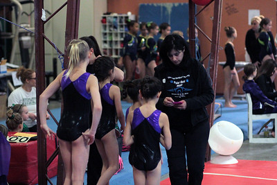 2014 Polar Bear Meet : Session 3 : Falcon Gymnastics