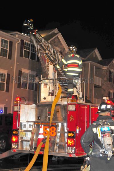 Budd Lake Working Fire 11 Brock Lane. September 21, 2008