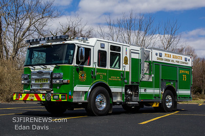 Green Creek Fire Dept. Cape May County NJ, Engine 73