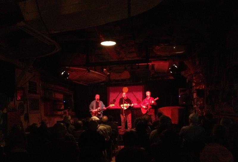 Different band tonight. Boathouse bluegrass