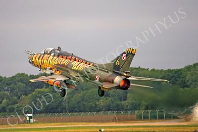 AFTERBURNER: Polish Air Force Sukhoi Su-7 Fitter Attack Jet Afterburner Pictures
