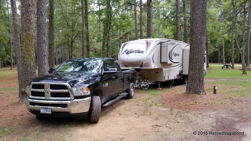 Santee Campground on Lake Marion