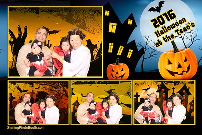 Halloween Party at the Tsao's