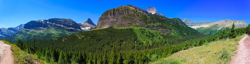 Wide View At Mount Wilbur