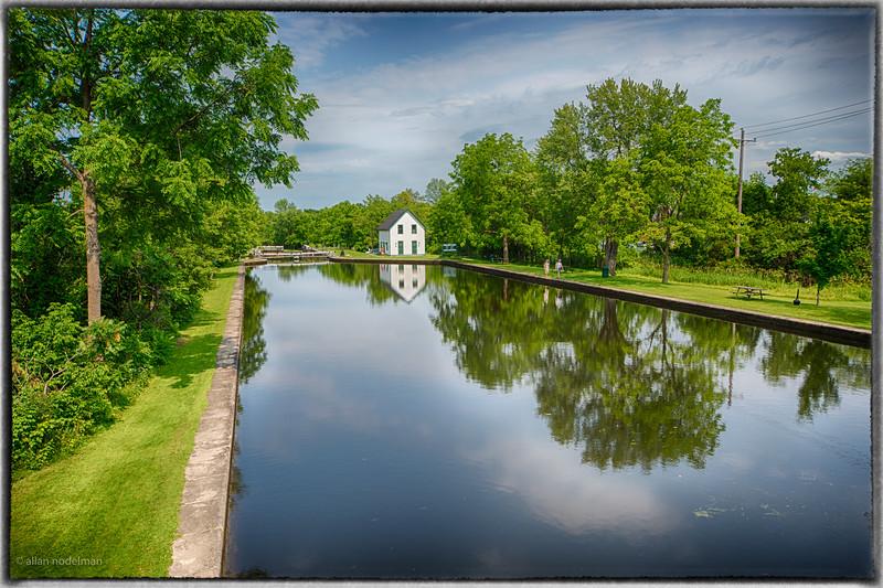 Rideau Canal in Merrickville