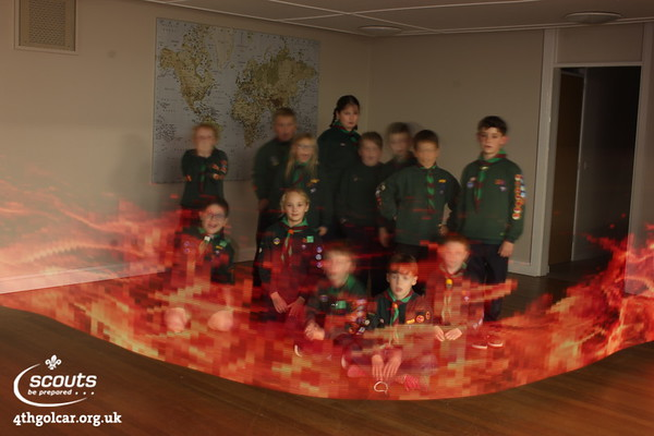 Fire Safety & Light Painting