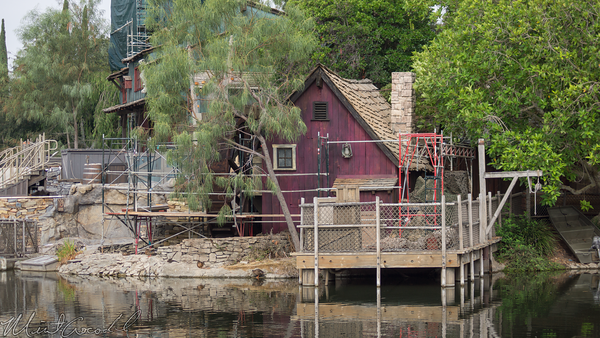 Disneyland Resort, Disneyland, Frontierland, Tom Sawyer Island, Tom, Sawyer, Island, Refurbishment, Refurbish, Refurb