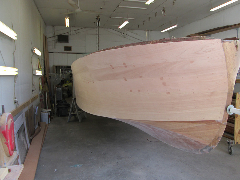 Front starboard view.