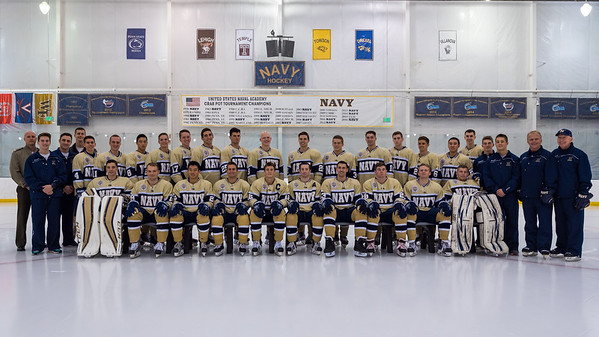 2016-10-17 NAVY Men's Ice Hockey Team
