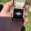 1.11ct Old European Cut Diamond Filigree Ring 9