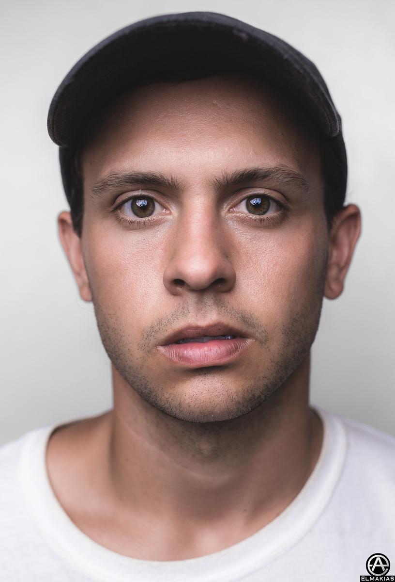 Backstage Portrait of Jake Duhaime of Citizen at Vans Warped Tour by Adam Elmakias