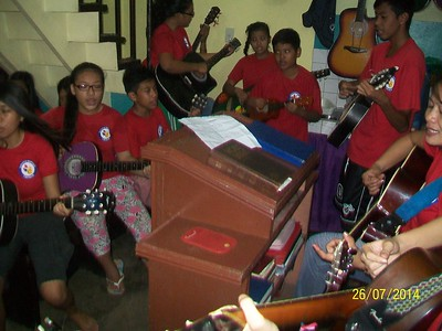 Mini Concert Dry Rehersal