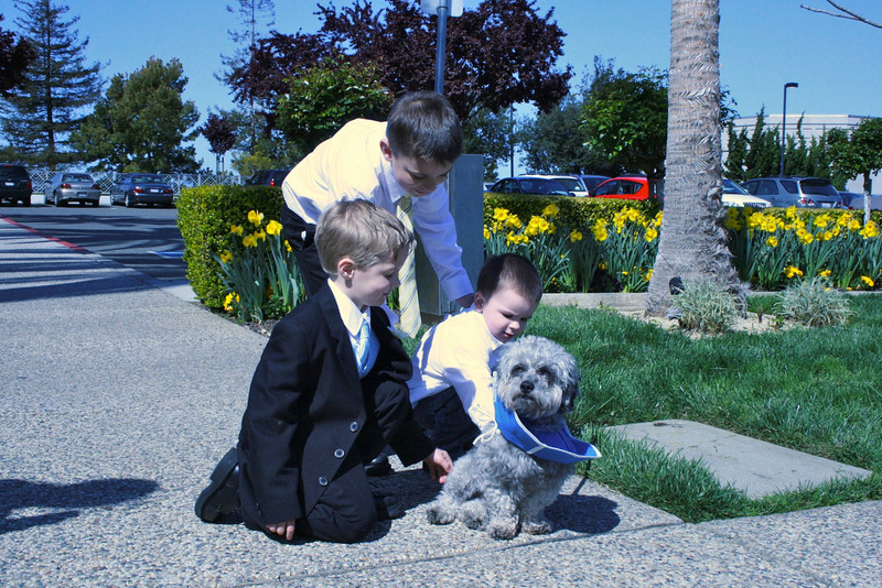 "After his little ""dip"", George joins Spencer and Chase to meet Max."