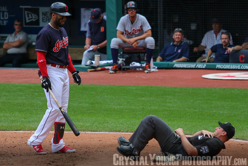 Detroit Tigers at Cleveland Indians September 13, 2017 Indians win American League record 21st consecutive game