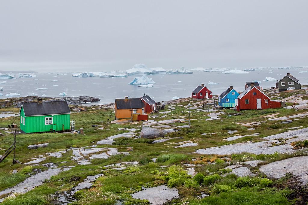 Ilulissat Greenland - Oqaatsut - Lina Stock