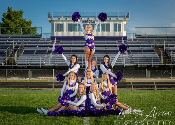 Cheerleading Team Fall 2014