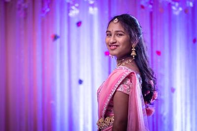 Jia Nayana  |  Half Saree