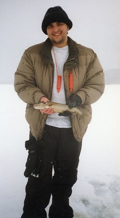 Schroon Lake Ice Fishing Derby, 2001